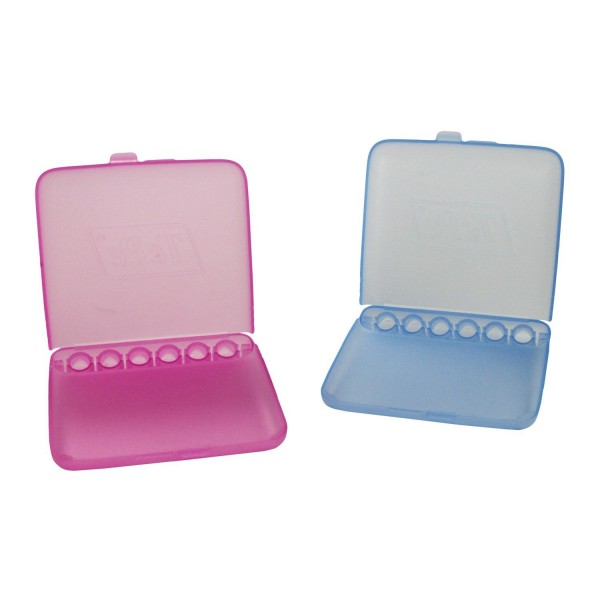 TePe Interdental Brush Travel Case - Pink & Blue