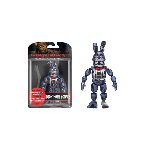 ​​Funko Articulated Five Nights at Freddy's - Nightmare Bonnie Action Figure