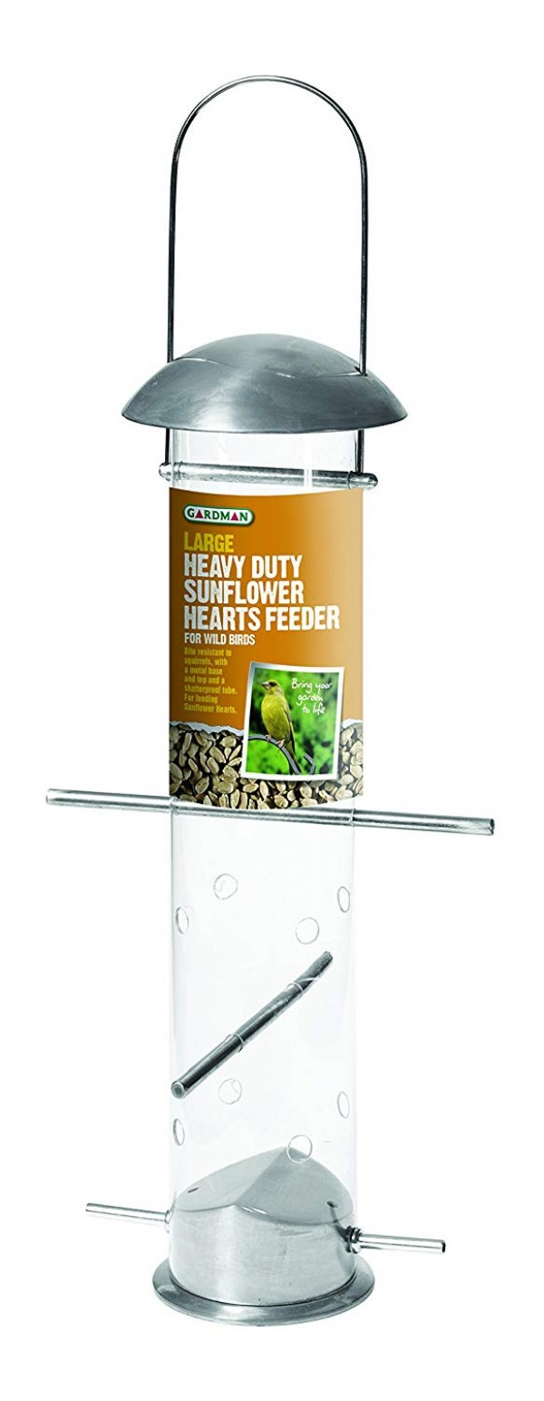 Gardman Large Heavu Duty Sunflower Hearts Feeder