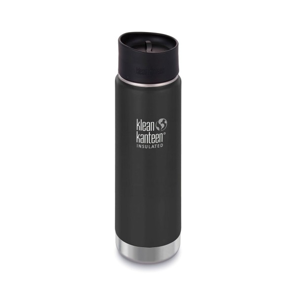 Black Klean Kanteen Cafe Cap 2.0 Replacement Lid for Wide Mouth Bottles