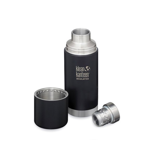 Klean Kanteen TKPro 25oz (740ml) Vacuum Insulated Canteen - Shale Black