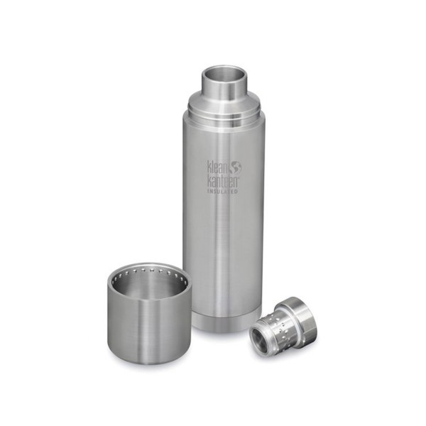 Klean Kanteen TKPro 32oz (946ml) Vacuum Insulated Canteen - Brushed Stainless