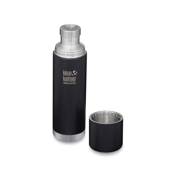Klean Kanteen TKPro 32oz (946ml) Vacuum Insulated Canteen - Shale Black