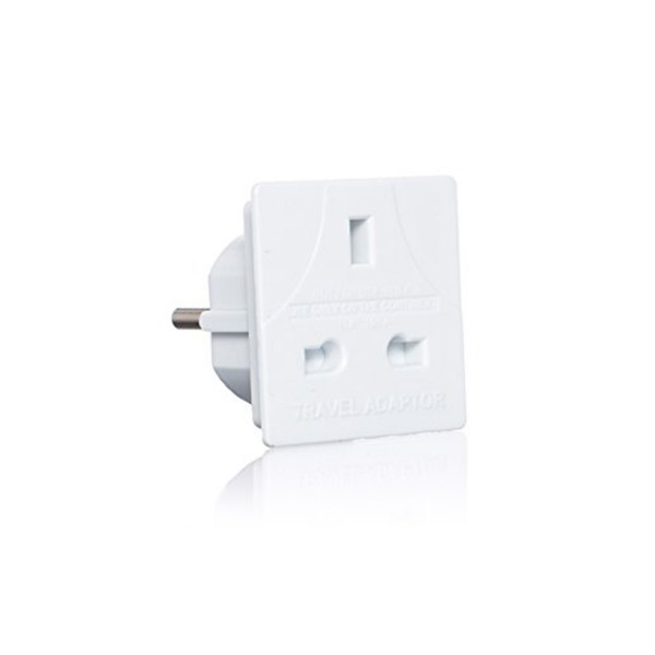 PIFCO European Travel Adaptor Plug (UK to EU)