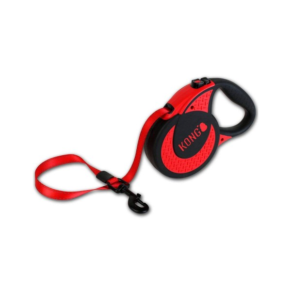 Kong Retractable XL red
