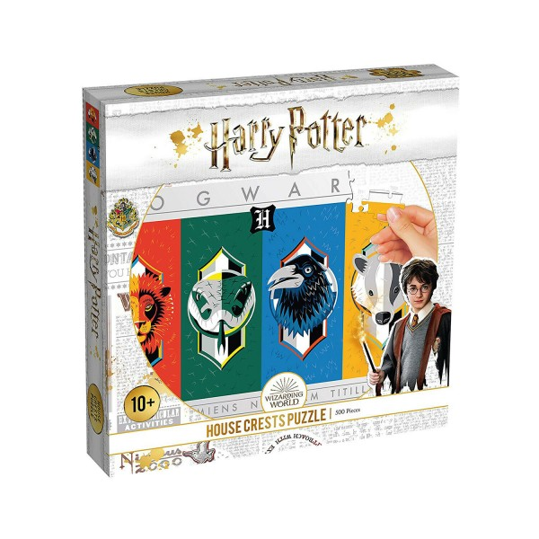 Winning Moves Harry Potter House Crests 500 piece Puzzle