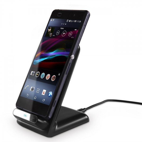 Kosee Qi Smart Wireless Charging Cradle Stand for a Range of Smartphones (Check list for compatibility)