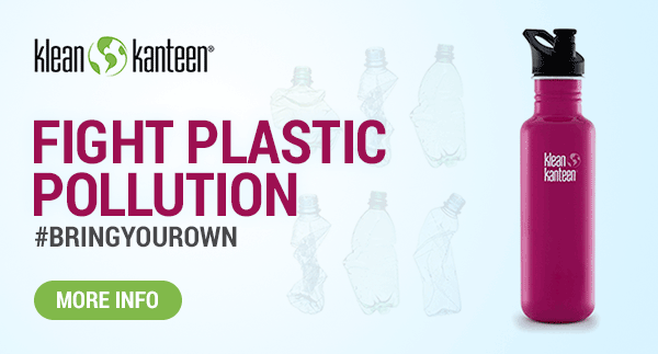 Help Fight Plastic Polution with Klean Kanteen