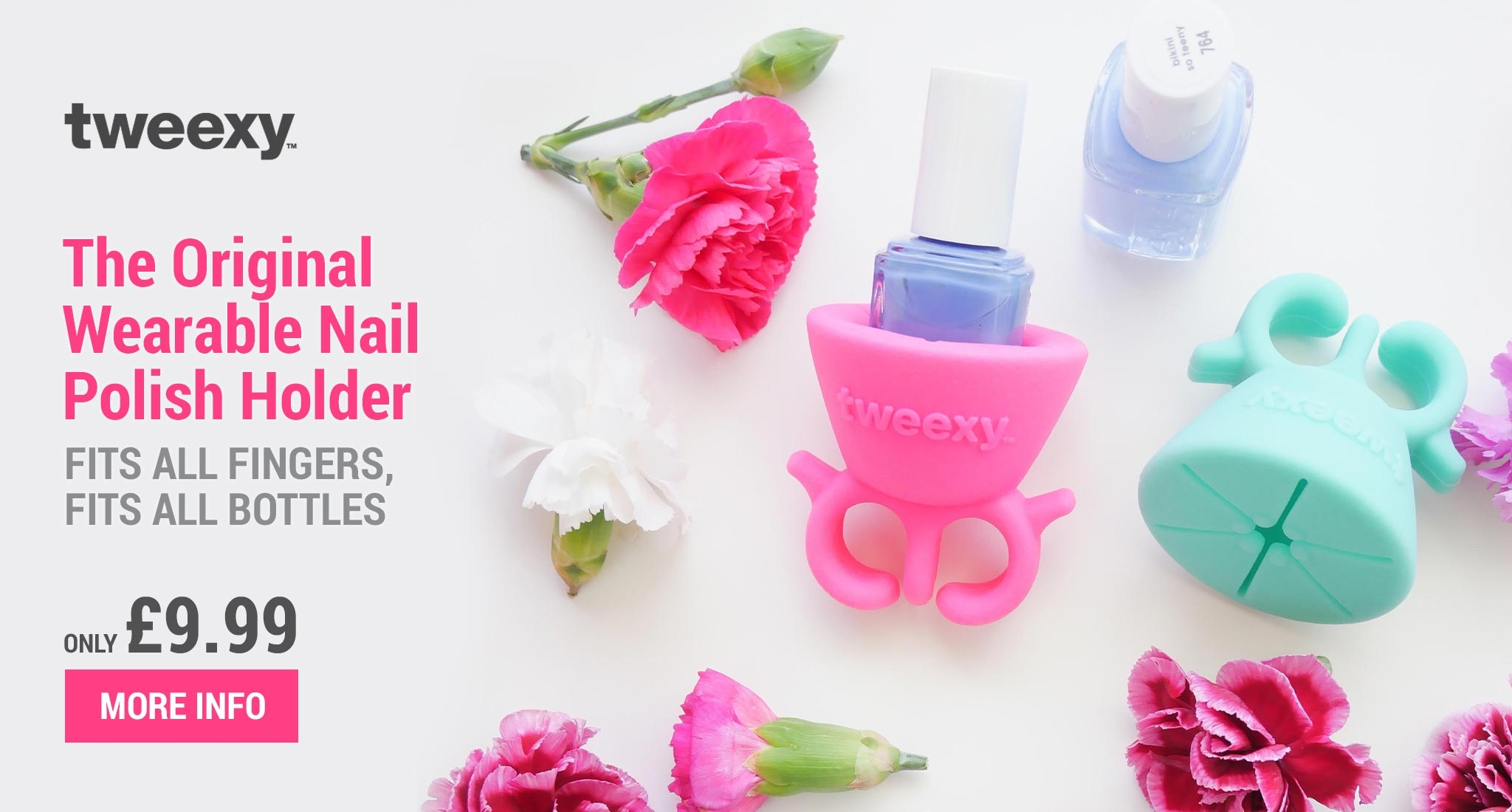 Tweexy the Original Wearable Nail Varnish Holder